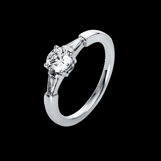 Solitairering Brogle Selection Promise aus 950 Platin mit 3 Diamanten (0,7 Karat) bei Brogle