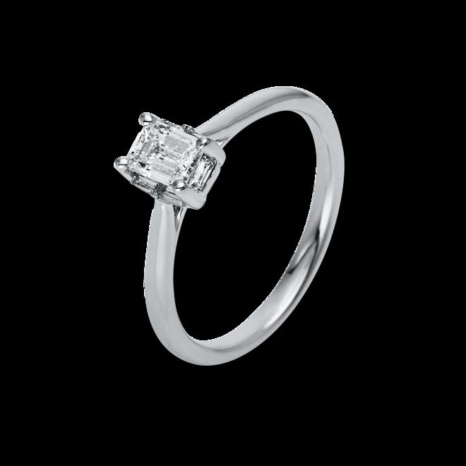 Solitairering Brogle Selection Promise aus 750 Weißgold mit 1 Diamant (0,59 Karat) bei Brogle
