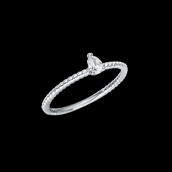 Solitairering Brogle Selection Promise aus 750 Weißgold mit 1 Diamant (0,16 Karat) bei Brogle
