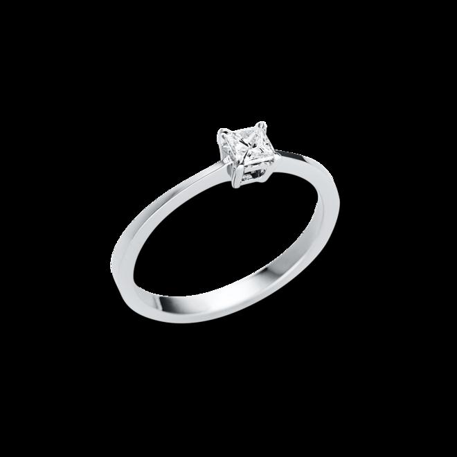 Solitairering Brogle Selection Promise aus 585 Weißgold mit 1 Diamant (0,22 Karat) bei Brogle