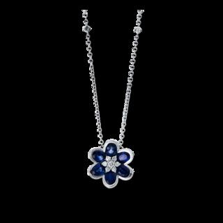 Brogle Selection Halskette mit Anhänger Felicity Blume 4C298W8