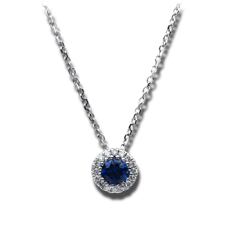 Brogle Selection Halskette mit Anhänger Royal 4B722W8-1