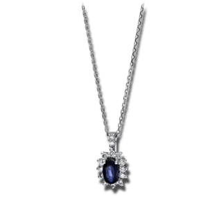 Brogle Selection Halskette mit Anhänger Royal 4F257W8-1