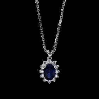 Brogle Selection Halskette mit Anhänger Royal 4F266W8-1
