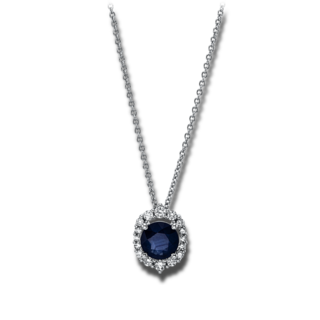 Brogle Selection Halskette mit Anhänger Royal 4G160W8-1