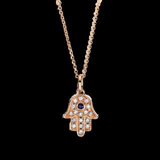 Brogle Selection Halskette mit Anhänger Royal Hand 4F552R8-1