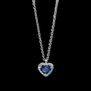 Brogle Selection Halskette mit Anhänger Royal Herz 4C598W8