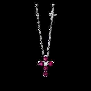 Brogle Selection Halskette mit Anhänger Royal Kreuz 4D167W8