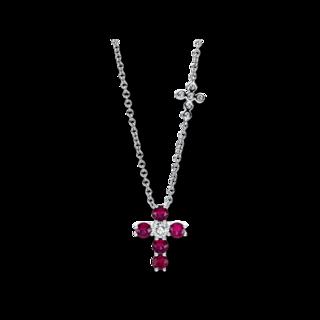 Brogle Selection Halskette mit Anhänger Royal Kreuz 4F482W8-1