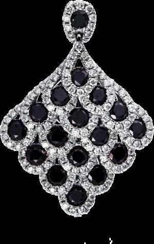 Anhänger Brogle Selection Statement aus 750 Weißgold mit 148 Diamanten (2,61 Karat)