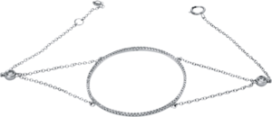 Armband Brogle Selection Statement aus 750 Weißgold mit 200 Brillanten (0,54 Karat)