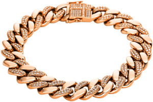 Armband Brogle Selection Statement aus 750 Roségold mit 344 Brillanten (2 Karat)