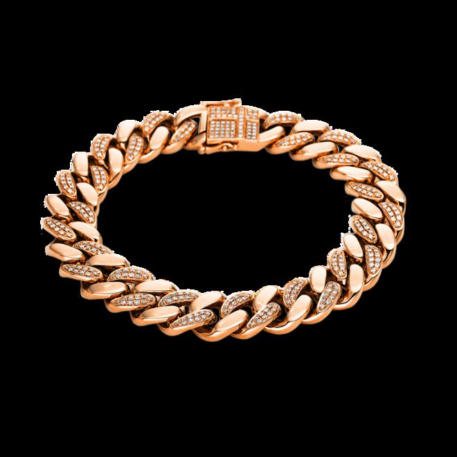 Armband Brogle Selection Statement aus 750 Roségold mit 344 Brillanten (2 Karat) bei Brogle