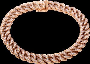 Armband Brogle Selection Statement aus 750 Roségold mit 350 Brillanten (3,01 Karat)