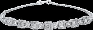 Armband Brogle Selection Statement aus 750 Weißgold mit 229 Brillanten (1,22 Karat)