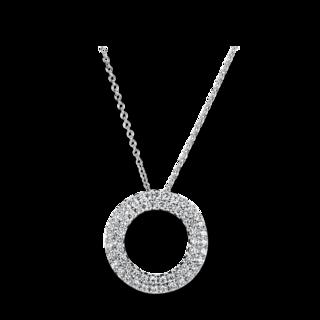 Brogle Selection Halskette mit Anhänger Statement 4A765W8-9