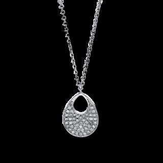 Brogle Selection Halskette mit Anhänger Statement 4C854W4-1