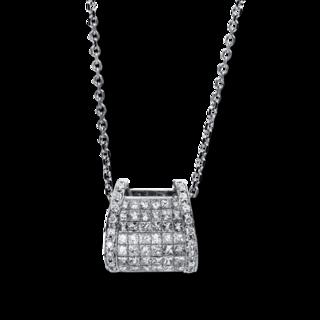 Brogle Selection Halskette mit Anhänger Statement 4E137W8-1