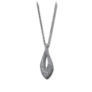 Brogle Selection Halskette mit Anhänger Statement 4E140W8-1
