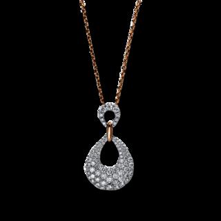 Brogle Selection Halskette mit Anhänger Statement 4E146WR8-1