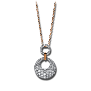 Brogle Selection Halskette mit Anhänger Statement 4E147WR8-1