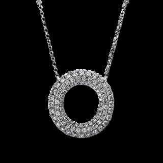 Brogle Selection Halskette mit Anhänger Statement 4E275W8-1