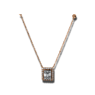 Brogle Selection Halskette mit Anhänger Statement 4E323R8-1