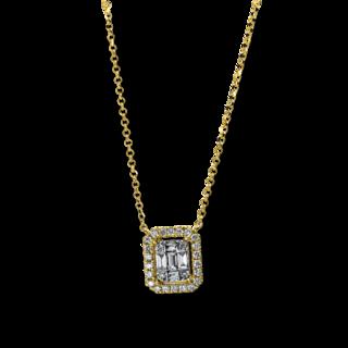 Brogle Selection Halskette mit Anhänger Statement 4E327G8