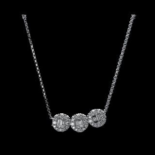 Brogle Selection Halskette mit Anhänger Statement 4E329W8
