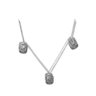Brogle Selection Halskette mit Anhänger Statement 4E334W8-1