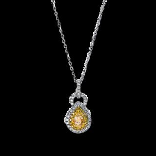 Brogle Selection Halskette mit Anhänger Statement 4E356WG8-1