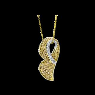Brogle Selection Halskette mit Anhänger Statement 4F188GW4-1