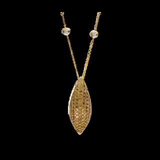 Brogle Selection Halskette mit Anhänger Statement 4F192GW4-1
