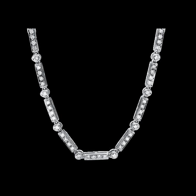 Halskette Brogle Selection Statement aus 750 Weißgold mit 165 Brillanten (3,32 Karat) bei Brogle