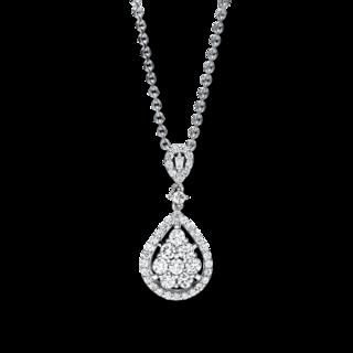 Brogle Selection Halskette mit Anhänger Statement 4F239W8-1