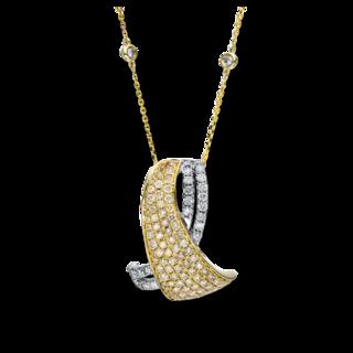 Brogle Selection Halskette mit Anhänger Statement 4F288WG