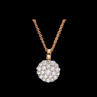 Brogle Selection Halskette mit Anhänger Statement 4F463R8-1