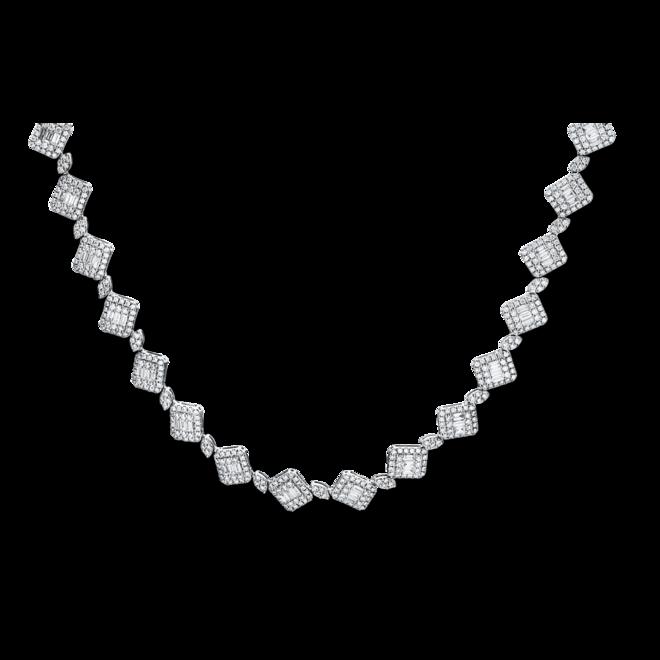 Halskette Brogle Selection Statement aus 750 Weißgold mit 523 Brillanten (5,09 Karat) bei Brogle