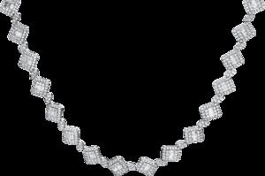 Halskette Brogle Selection Statement aus 750 Weißgold mit 523 Brillanten (5,09 Karat)