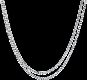 Halskette Brogle Selection Statement aus 750 Weißgold mit 216 Brillanten (5,51 Karat)