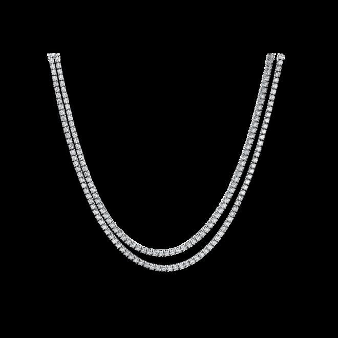 Halskette Brogle Selection Statement aus 750 Weißgold mit 216 Brillanten (5,51 Karat) bei Brogle