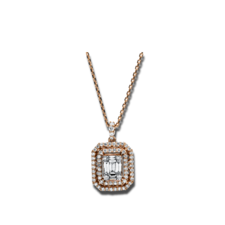 Brogle Selection Halskette mit Anhänger Statement 4F691R8