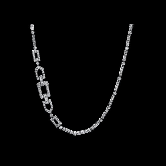 Halskette mit Anhänger Brogle Selection Statement aus 750 Weißgold mit 416 Brillanten (8,56 Karat) bei Brogle