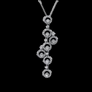 Brogle Selection Halskette mit Anhänger Statement 4G030W8-1