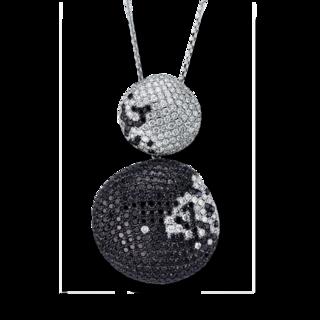 Brogle Selection Halskette mit Anhänger Statement 4G326W8-1