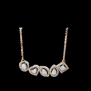 Brogle Selection Halskette mit Anhänger Statement 4G336RW8-2