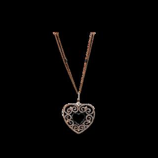 Brogle Selection Halskette mit Anhänger Statement Herz 4E205R8-1