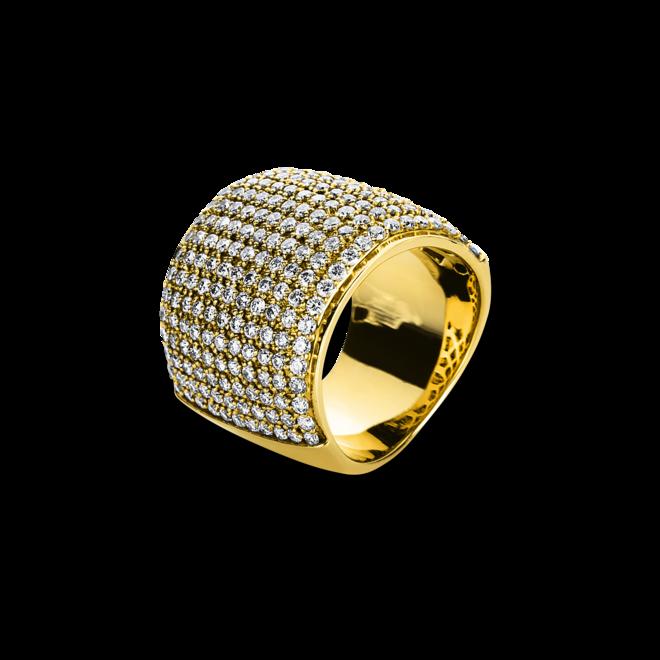 Ring Brogle Selection Statement aus 585 Gelbgold mit mehreren Diamanten (3,17 Karat) bei Brogle