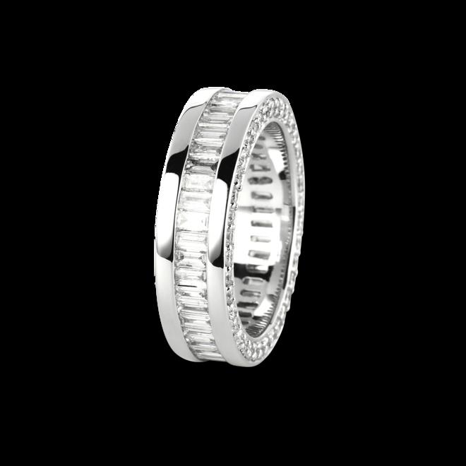 Ring Brogle Selection Statement aus 750 Weißgold mit mehreren Diamanten (4,2 Karat) bei Brogle