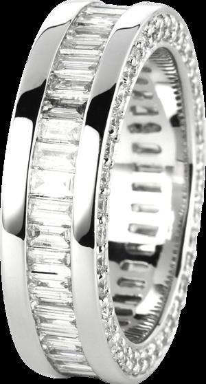 Ring Brogle Selection Statement aus 750 Weißgold mit mehreren Diamanten (4,2 Karat)